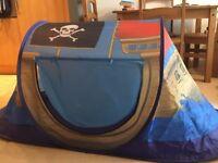 Pirate Boat Tent
