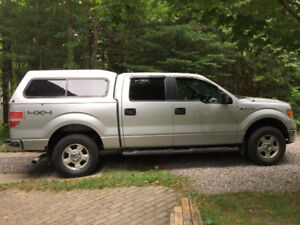 Ford 2012 F-150 XLT 4x4 Supercrew Pickup Truck with Towing Pkg
