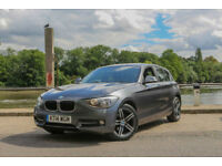 2014 BMW 118 2.0TD ( 143bhp ) Sport 5 Doors ,,Leather and Navigation ,1 OWNER