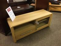 Oak TV Cabinet * free furniture delivery*