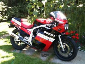 GSXR 750 First Race Replica Street/Track Bike
