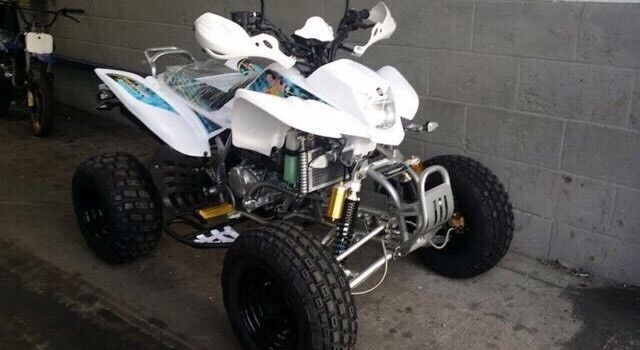 2017 plate road legal 250cc quad with upgrades bargain