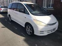 2002 02reg Toyota Estima Privia 2.4 Automatic White Face Lift 8 Seater