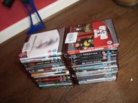 32 x hd dvds all boxed not blu ray all boxed some still sealed