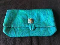 Vintage handmade clutch bag