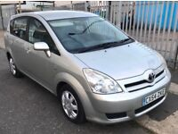2004 AUTOMATIC Toyota Corolla Verso 1.8 T2 5dr 7 Seater