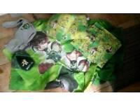 Ben Ten duvet cover, pillow case, cushions, curtains, cap and jumper