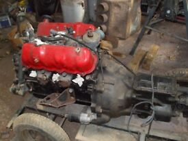 ford v6 engine & gearbox