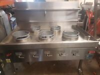 Chinese Wok Cooker 5 Burner For Commercial Restaurant Takeaway,cooker