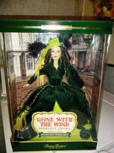GONE WITH THE Wind Scarlet O'Hara Doll Brand New in Box OBO