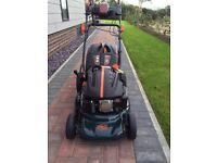 BMC lawn racer lawn mower petrol as new