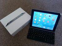 Apple iPad 4th gen, Retina display 16GB, Wi-Fi + Logitech Ultra-thin Keyboard Cover