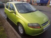 2003 DAEWOO KALOS 1.4..LONG MOT..LOW MILES..QUICK SALE