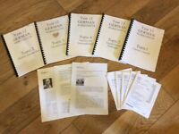 German, year 12 and 13 worksheets