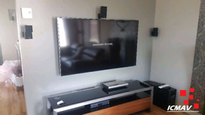 INSTALLATION MURALE TV / SUPPORT TV DISPONIBLE