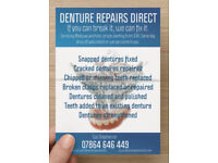 Broken, cracked or chipped denture? We can repair it and have it feeling and looking like new again
