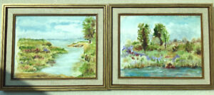 VINTAGE FRAMED WATERCOLOURS PAINTED BY BEATRICE CROSS