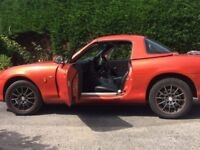 Mazda MX5 1.8i Icon, excellent condition, low mileage, hard/soft top, luggage rack, leather seats