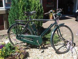 Vintage Raleigh Roadster Bicycle