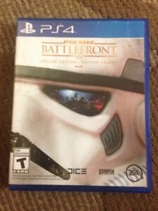 BATTLEFRONT DELUXE EDITION - mint condition