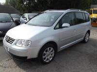 Volkswagen Touran 1.9TDI SE( 103BHP ) ( 7st ) 5 DOOR 7 SEATER DIESEL MPV