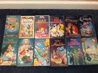 12 Disney vhs