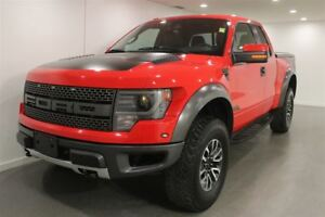 2013 Ford F-150 Raptor|Red|Nav|Cam|Bluetooth| Leather