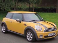 07 REG MINI ONE - 1.4 - R56 MODEL - LOOKS STUNNING - PX WELCOME