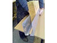 Joist End Repair Plate Kit (includes screws)