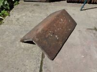 Recycled terracotta roof tiles - good condition - Ridge tiles and main tiles
