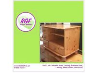 SALE NOW ON!! Pine TV Stand - Can Deliver For £19