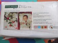 Naty by Nature Babycare Size 3 and 2 - NEW