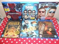 X6 BRAND NEW SEALED BLU-RAYS - £10 FOR ALL