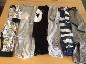 Large boys clothes Bundle 6-9 months