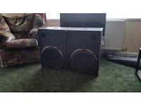 Fane colossus 400 rms bass bins x2