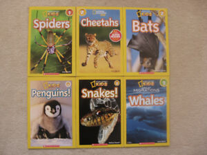 National Geographic Kids Books (6 Books)