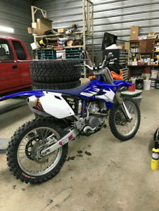 05 yz450f new motor and trans