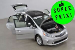 2012 Toyota Prius v Technologie GPS+Cuir+Toit Panoramique