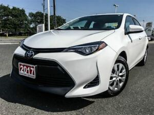 2017 Toyota Corolla CE-ONE OWNER!