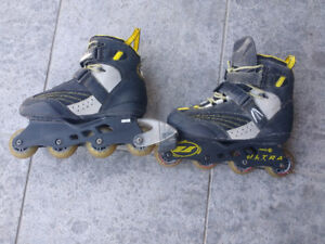 Lightweight Rollerblades are used but in great condition Origina