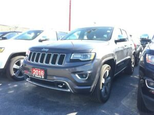 2016 Jeep Grand Cherokee OVERLAND**LEATHER**SUNROOF**NAVIGATION*
