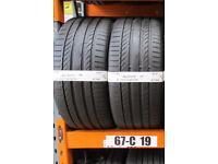 U92 2X 265/40/21 101Y CONTINENTAL SPORT CONTACT 5P NO 2X6,5MM TREAD