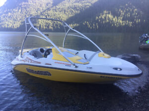 2004 Seadoo Sportster 4tec Jet Boat with Wakeboard Tower
