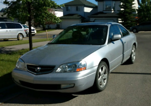 2001 Acura CL Type S leather sport