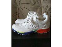 Authentic Chanel multicolour sneakers