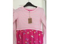 BRAND NEW JOULES DRESS AGE 11-12 years