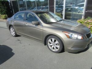 2009 Honda Accord EX-L WITH TAN LEATHER INTERIOR