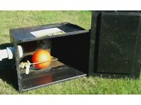 18 Litre - 4 gallon feed and expansion water tank cistern - with lid
