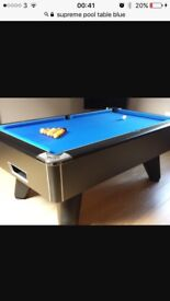 2 refurbished pool tables for sale