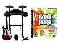 Ps3 band Hero set